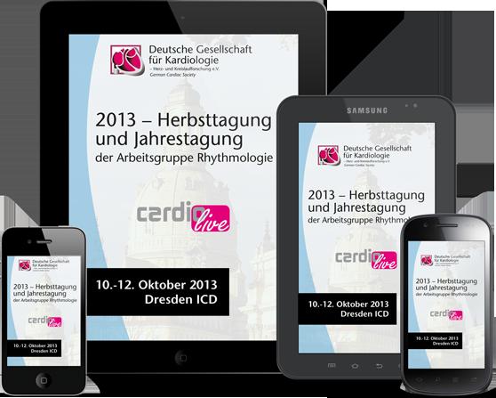 DGK HT2013 - App zur Herbsttagung für iPhone, iPad, Adroid und mobile Devices
